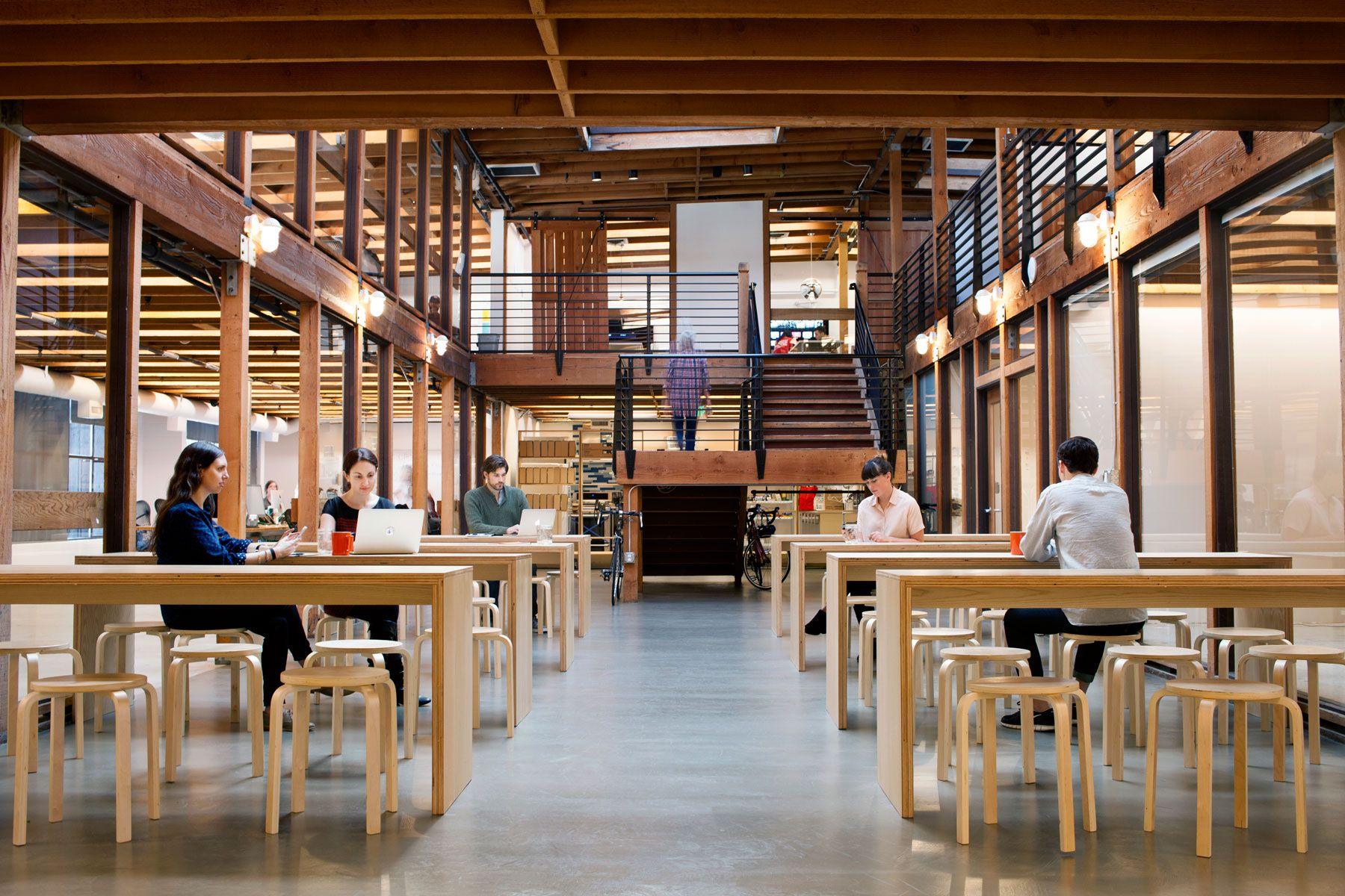 Take a tour of postmates beautiful san francisco office - Office interior design san francisco ...