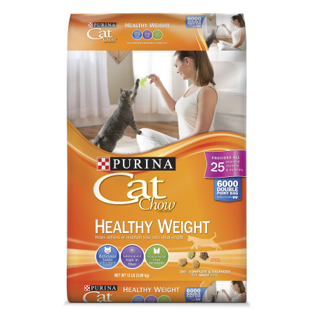Purina Cat Chow Healthy Weight Adult Dry Cat Food 13 lb
