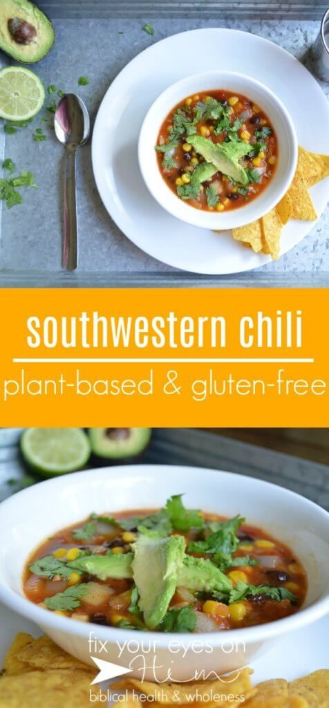 Nourish Quick And Easy Southwestern Chili Aka Fast Food