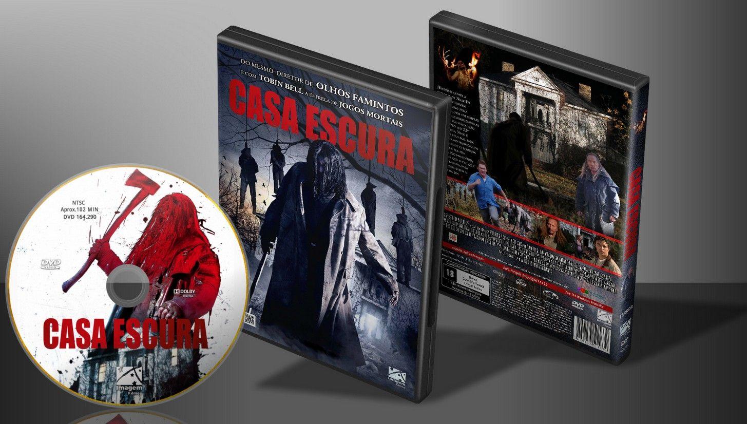 Casa Escura - Capa - Capa | VITRINE - Galeria De Capas - Designer Covers Custom | Capas & Labels Customizados
