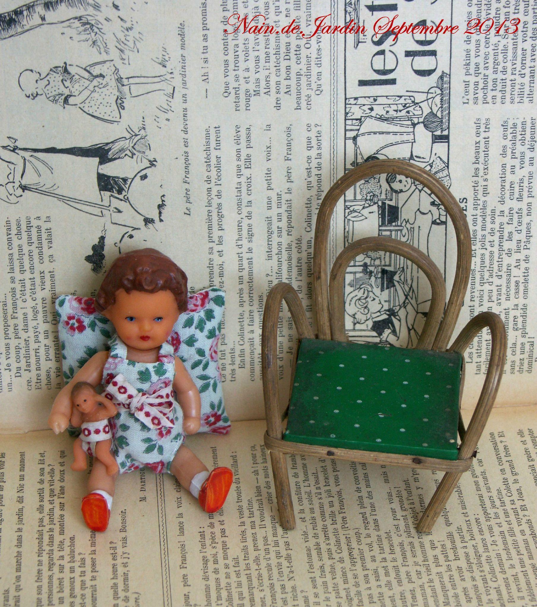 Boutique Nain.de.Jardin N°46 2013-09 Aimée et sa petite poupée