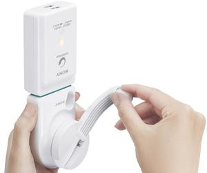 Sony hand-cranked USB charger replenishes energy without an outlet #gadget #innovative