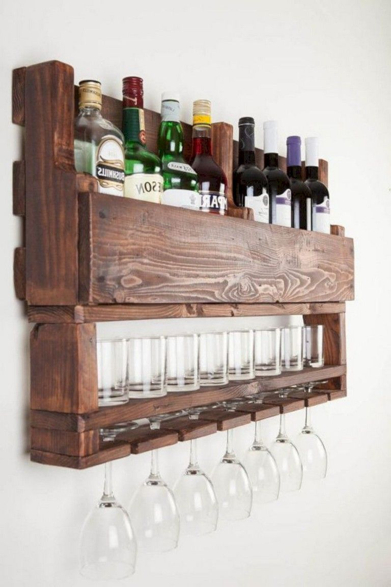 30+ Simple Pallet Bar DIY Ideas for Your Home Decor Home