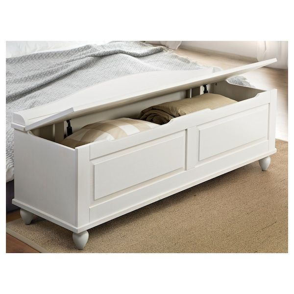Terrific Hornsund Bench White Stained My Ideas In 2019 Ikea Caraccident5 Cool Chair Designs And Ideas Caraccident5Info