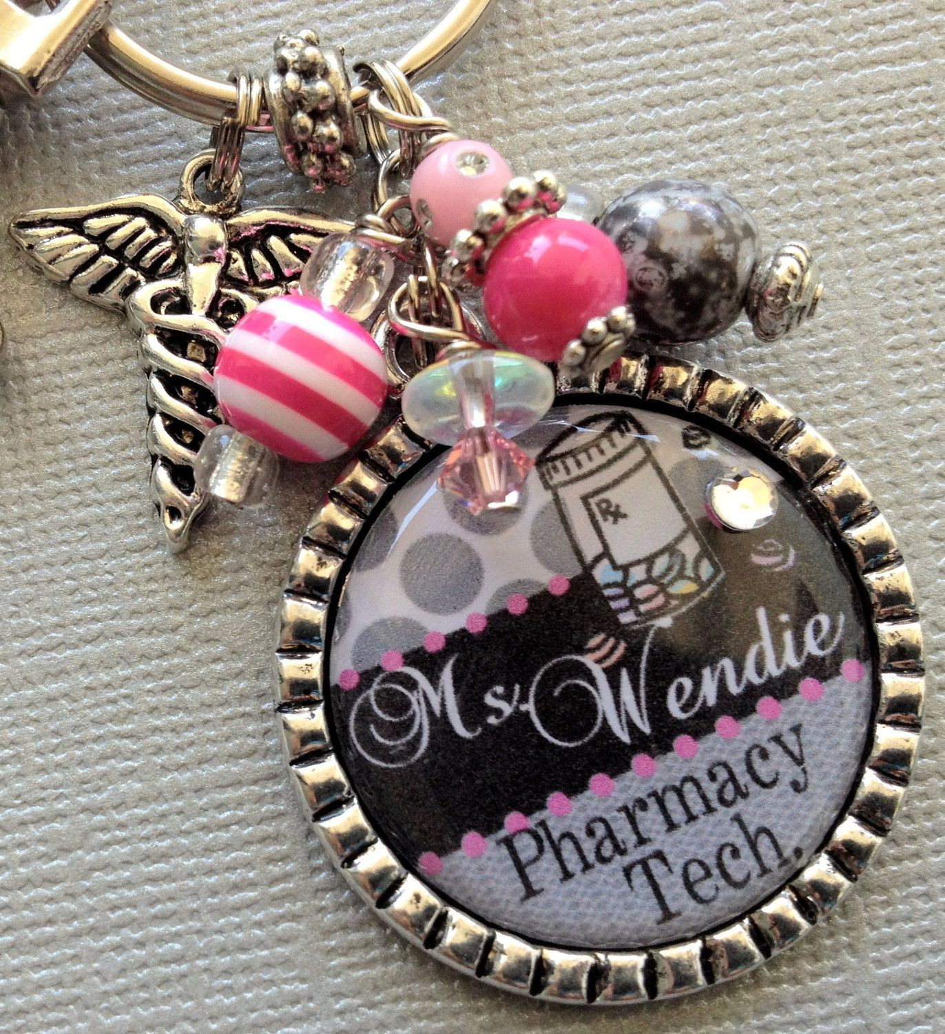 pharmacy technician pharmaceutical pharm tech by southernvixen pharmacist keychain pharmacy technician instructor by buttonit 17 50