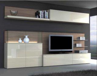 Шкаф-Стенка В Гостиную: 140+ (Фото) Красивых & Модульных ...