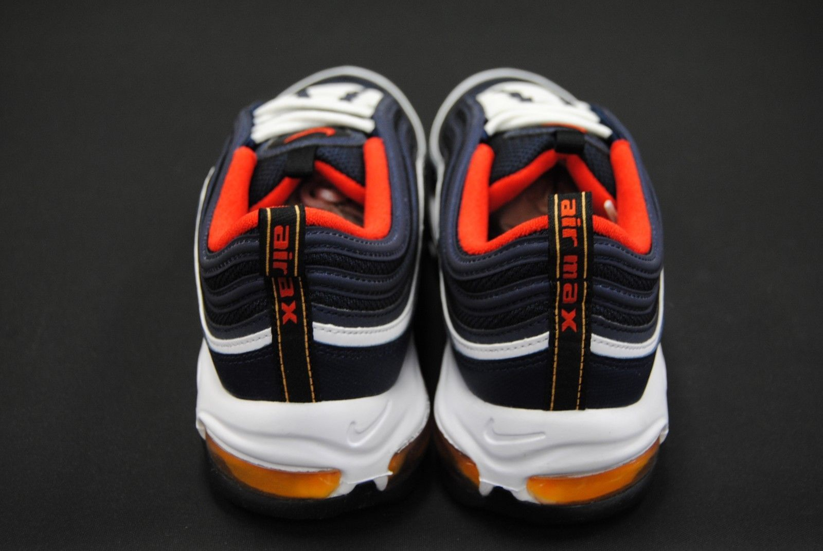 a83f101abed Details about Men s Nike Air Max 97 921826-403 Midnight Navy Black ...