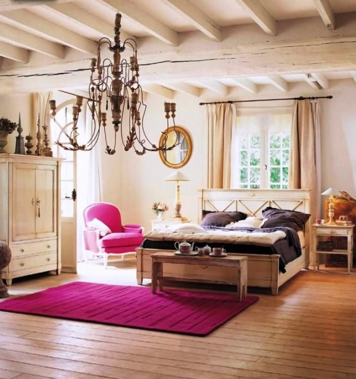 Accented Neutral This Room Is Because Its Very With A Pop Pink On The Rug And Chair That Of Attracts Eye Makes
