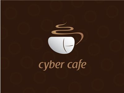 Cyber Cafe Cyber Cafe Cafe Logo Cafe Logo Design