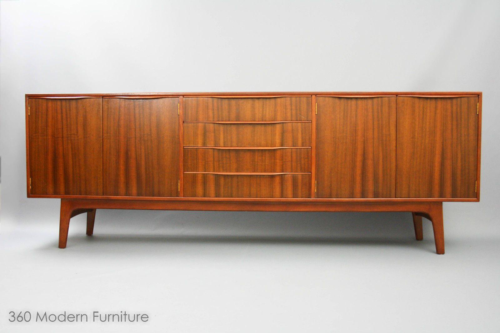 MID Century Noblett Lowline Sideboard Drawers Retro Vintage Parker Danish ERA 211cm Long in Narre Warren, VIC | eBay 360 MODERN FURNITURE