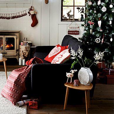Christmas Shopping At Debenhams Com Christmas Living Rooms Beautiful Christmas Decorations Christmas Decorations For The Home