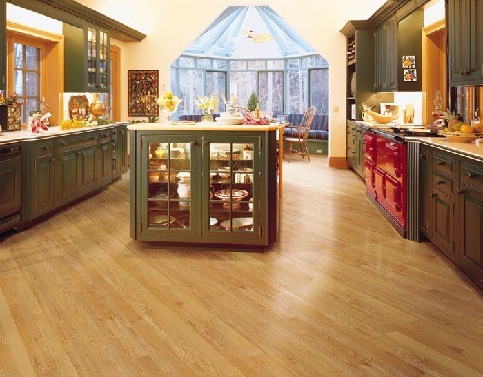 natural red oak kitchen flooringmullican flooring. www