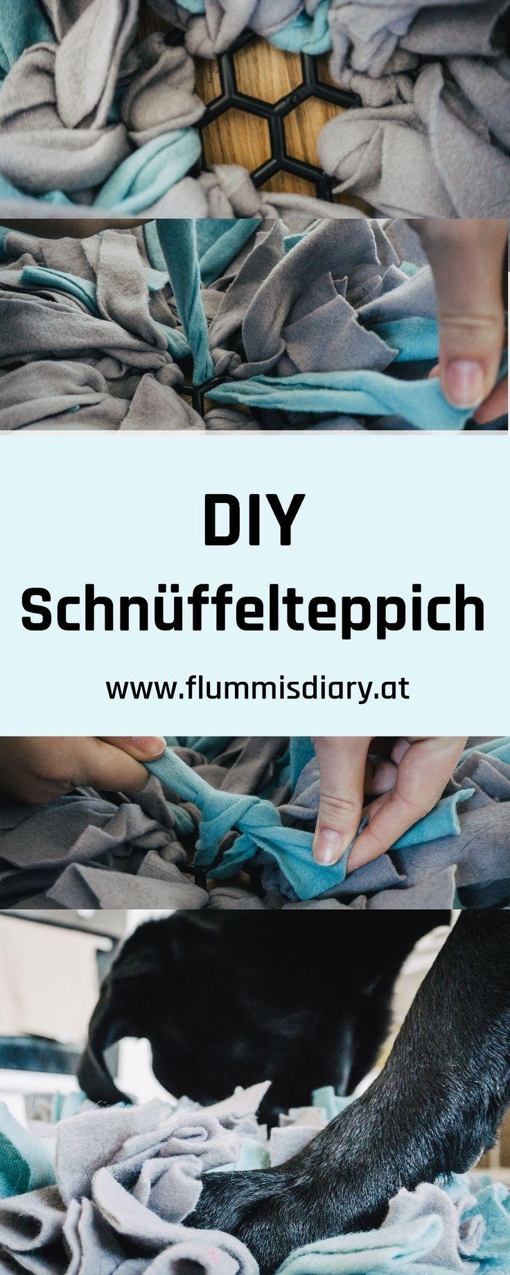 ➡ DIY Schnüffelteppich – ideale Auslastung für berufstätige Hundehalter – Flummi's Diary