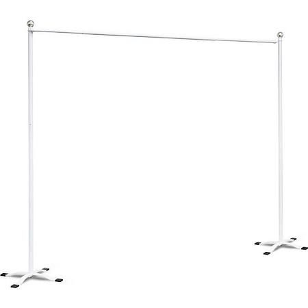 Free Standing Drape Rod Google Search Outdoor Curtain Rods Outdoor Curtains Deck Curtains