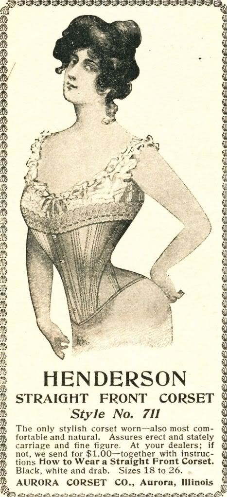 what-i-found: Corsets from 1901 - Woman\'s Home Companion   1900s ...