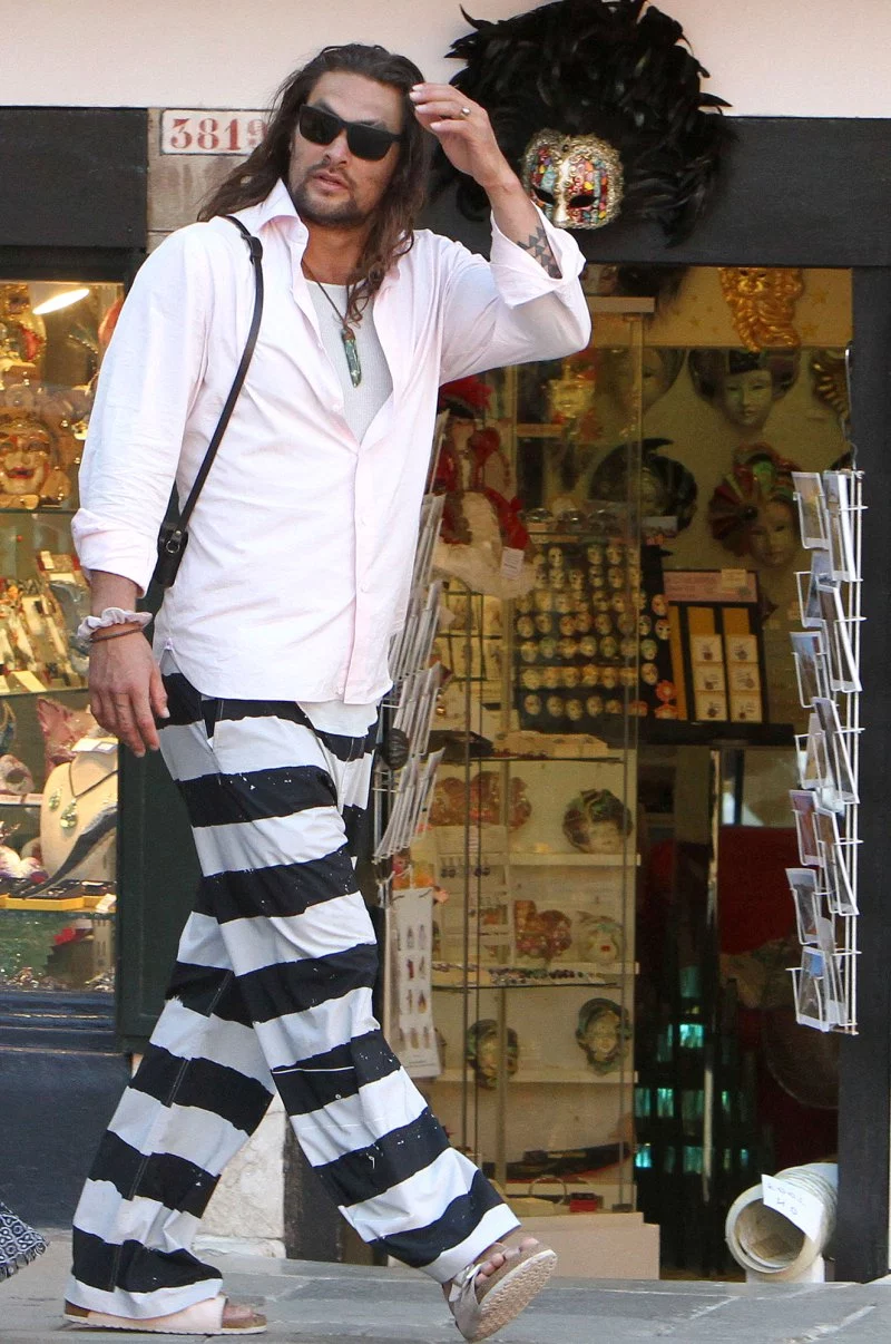 Jason Momoa And Lisa Bonet Explore Italy After Zoe Kravitz