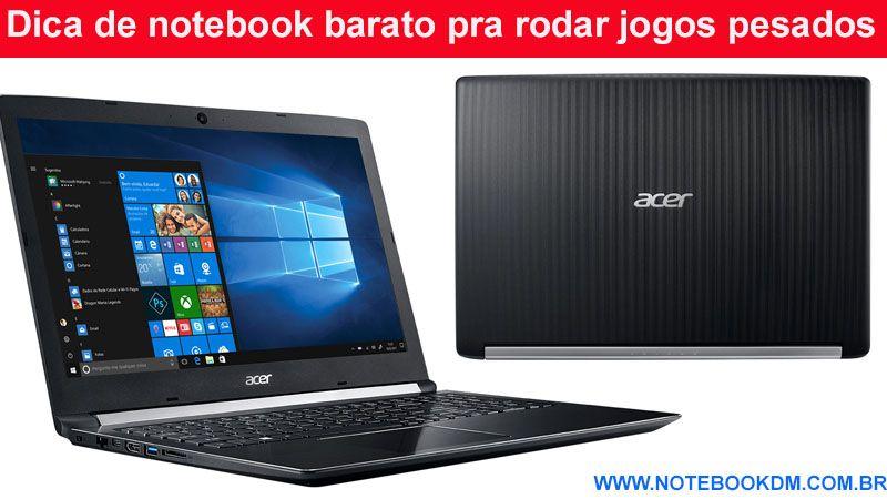 3ae225c4b Um modelo bom para comprar seria o Notebook Acer Aspire 5 A515-51G-C97B
