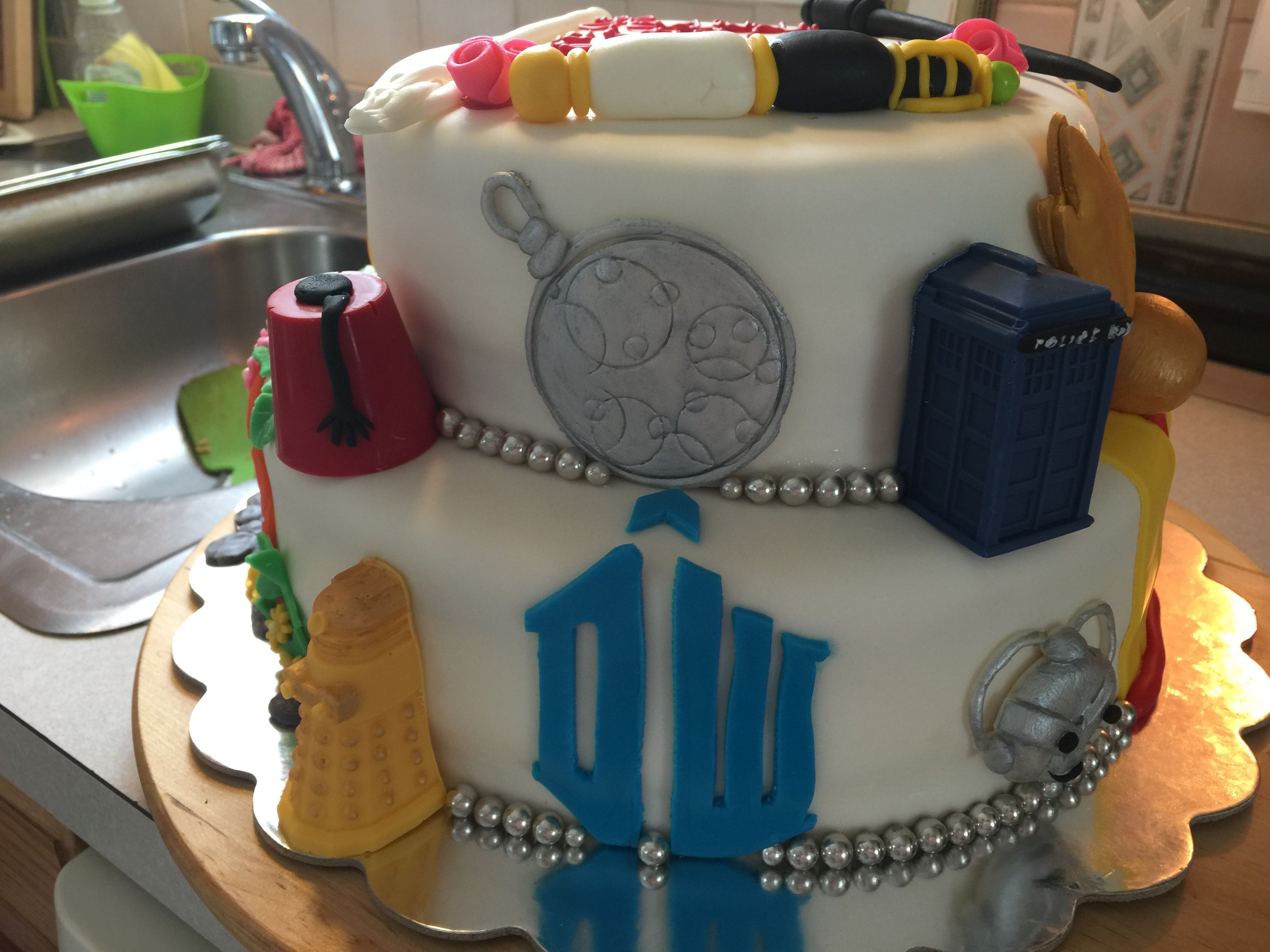 Harry Potter Lord Of The Ring And Dr Whos Birthday Cake My