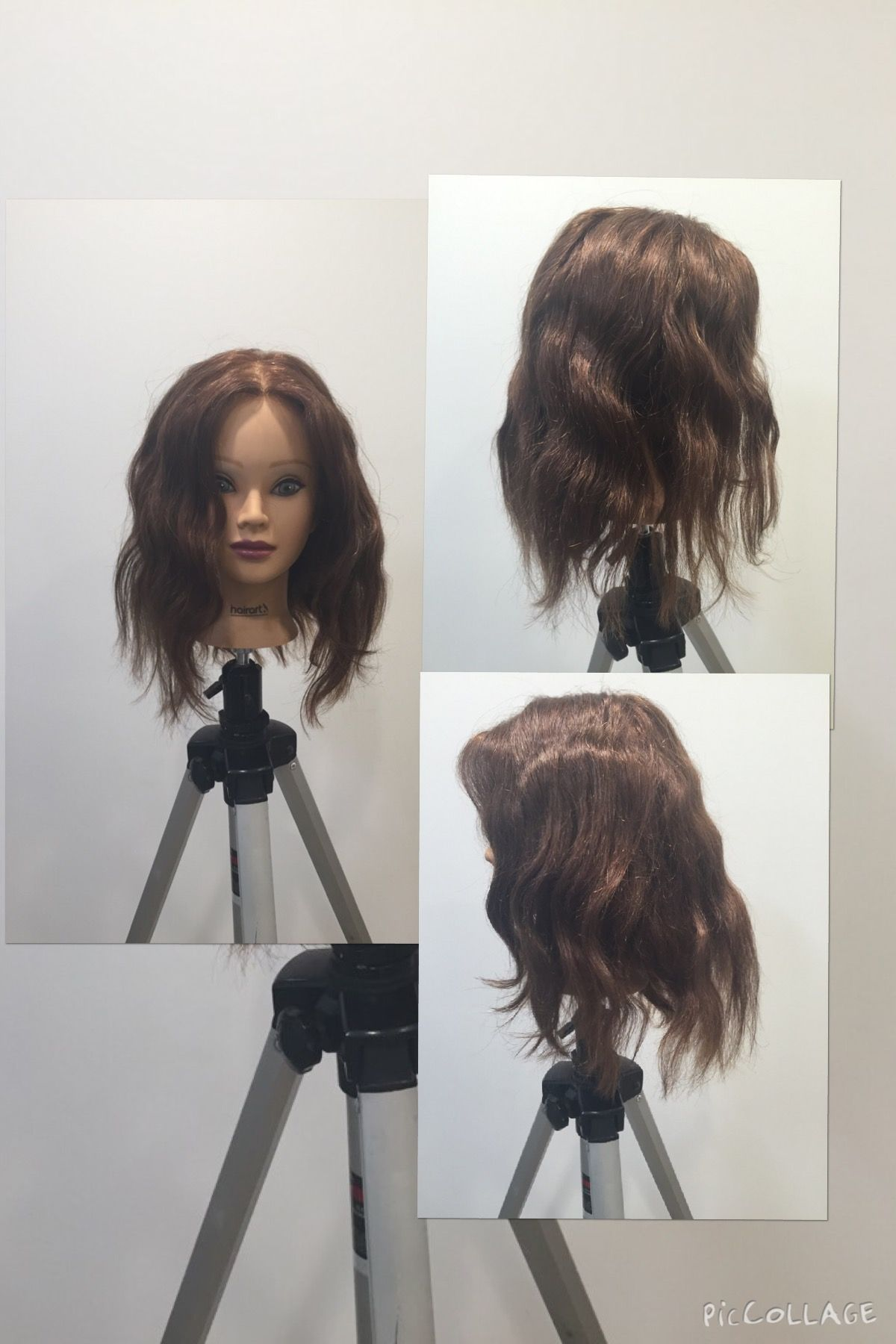 The finished and styled look for the Marcel Waves. #aveda #douglasj