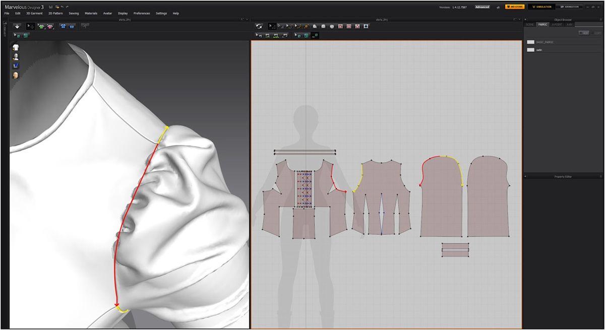 Modeling 3d Clothes In Marvelous Designer Marvelous Designer Designer Clothing Patterns Design
