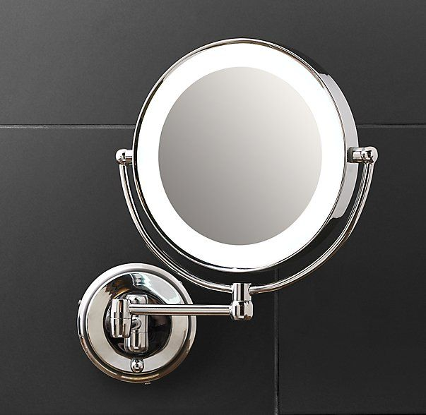 Modern Lit Extension Mirror Bath Mirror Extension Mirror Mirror Restoration