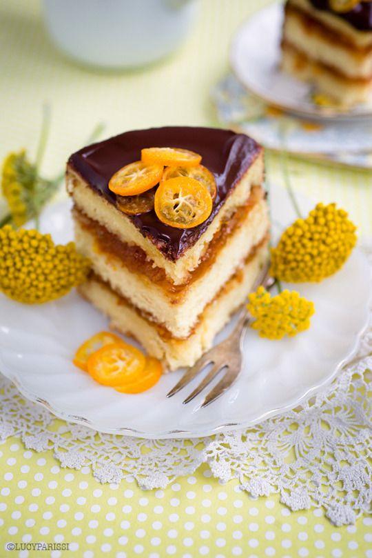 Jaffa Cake - Chocolate and Orange Layer Cake