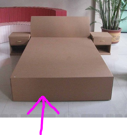 Arrow+and+cardboard+bed.PNG (430×457) | ghiro image | Pinterest