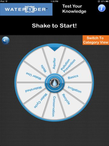 Develop groundwater awareness with this fun trivia app from the