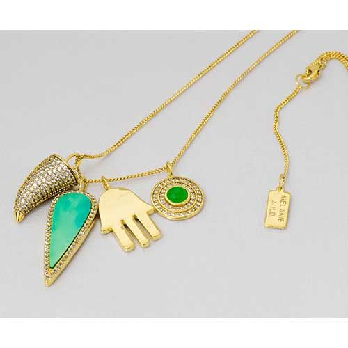 Melanie Auld Protection Charm Necklace from Sage Accessories