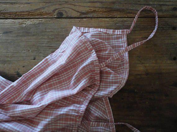 light COTTON night gown / dress / nighty hand-made from light ...