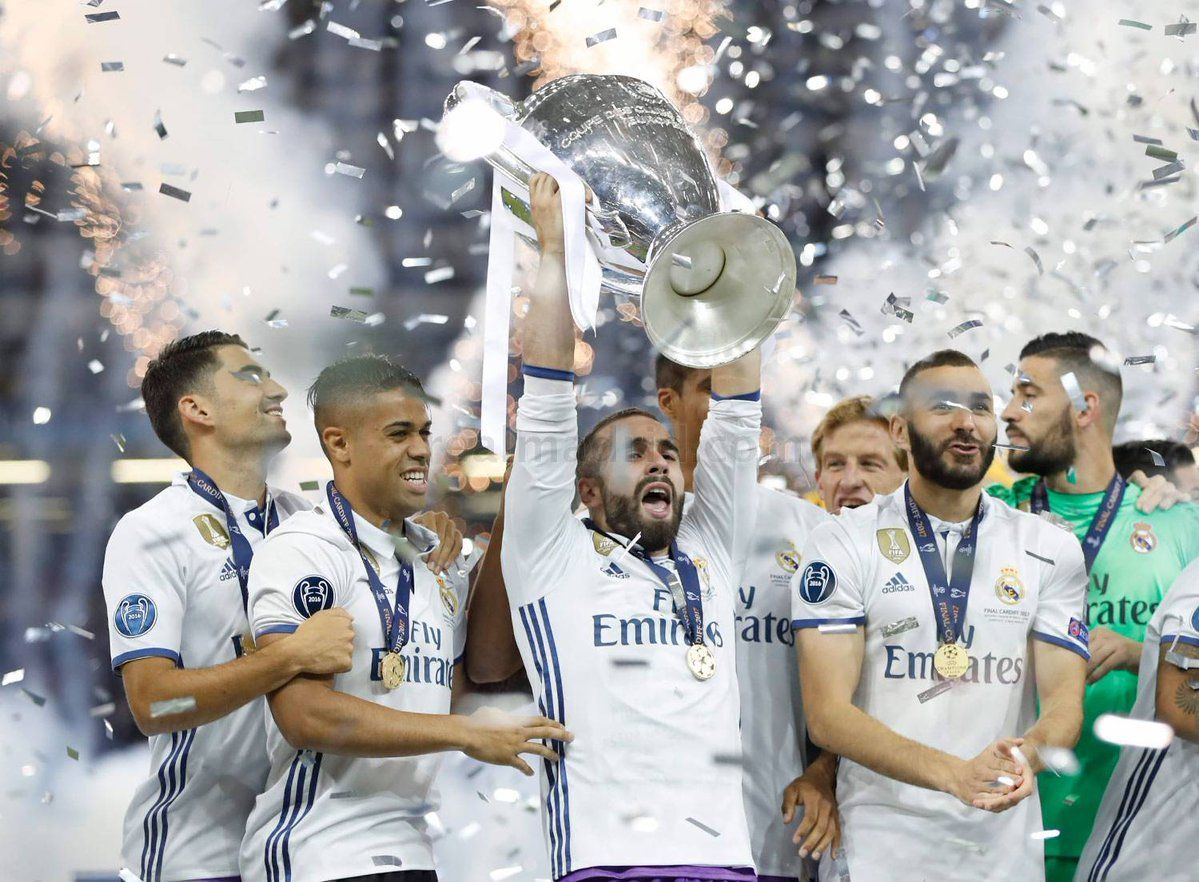 627fc939daf Real MadridSoccer Dani Carvajal Real Madrid Dani Carvajal Real Madrid  Champions League 12 duodecima Cardiff 2017 ...