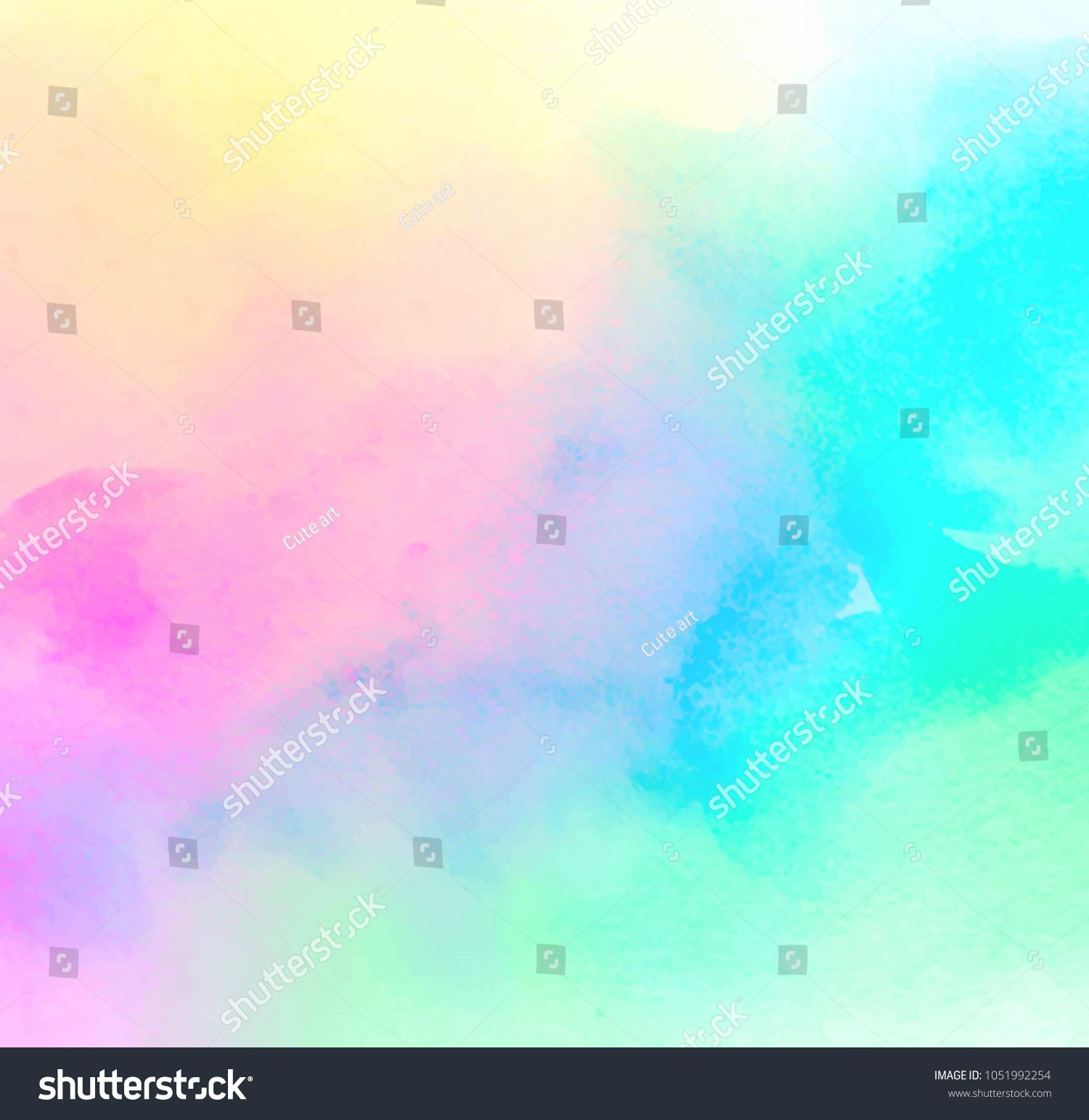 Colorful Pastel Drawing Paper Texture Vector Bright Banner Print
