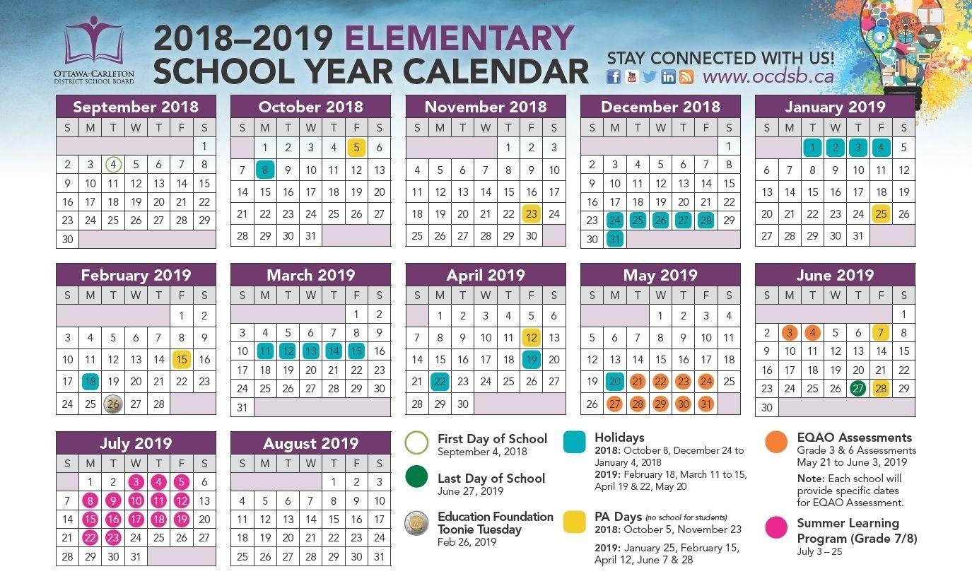 Impressive Calendar School New York in 2020 | School ...