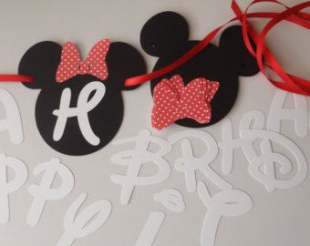Diy mickey birthday banner kit with fancy font and optional custom diy mickey birthday banner kit with fancy font and optional custom name and free gift by feistyfarmerswife solutioingenieria Image collections