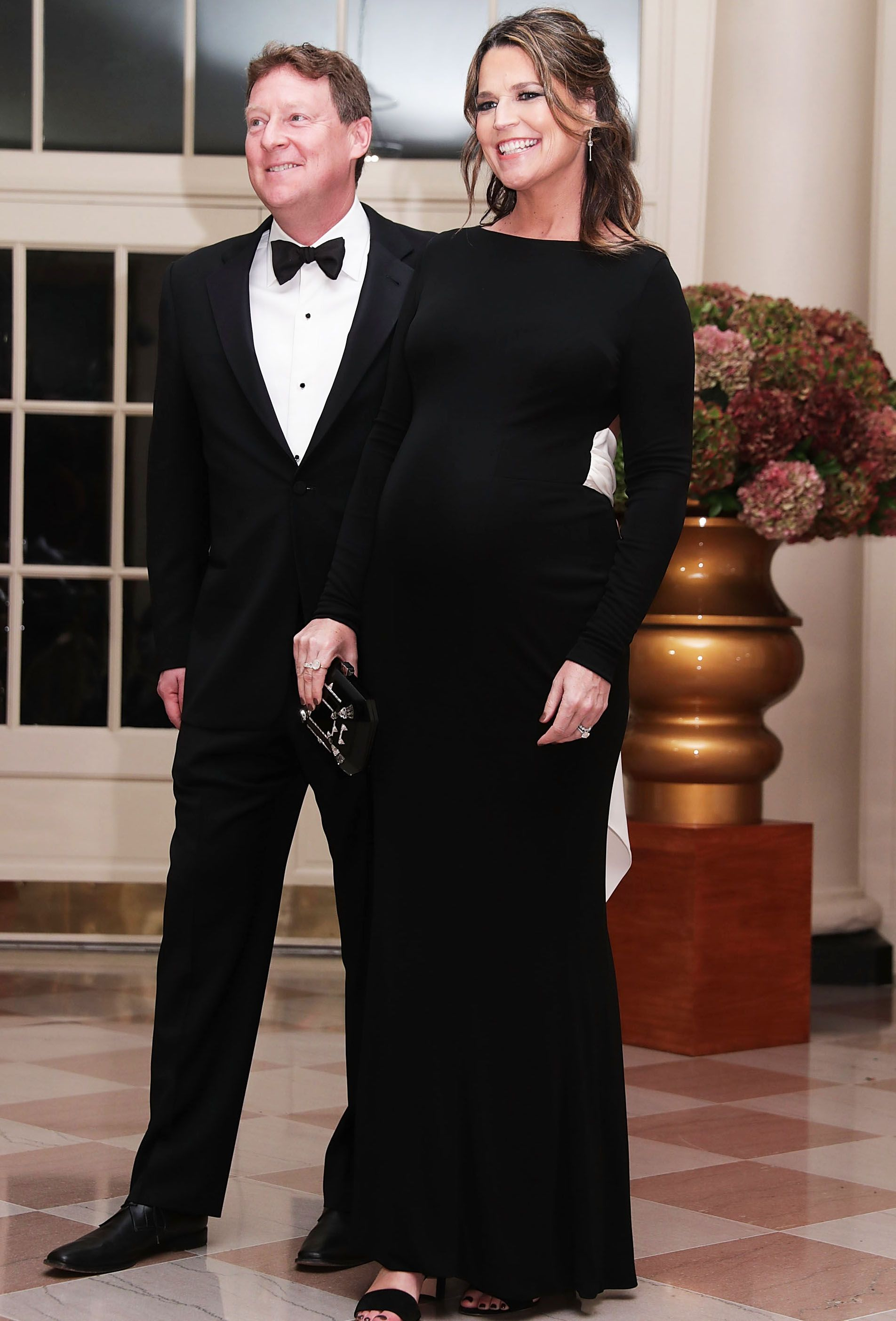 Pregnant Savannah Guthrie Shows Off Her Baby Bump On Instagram
