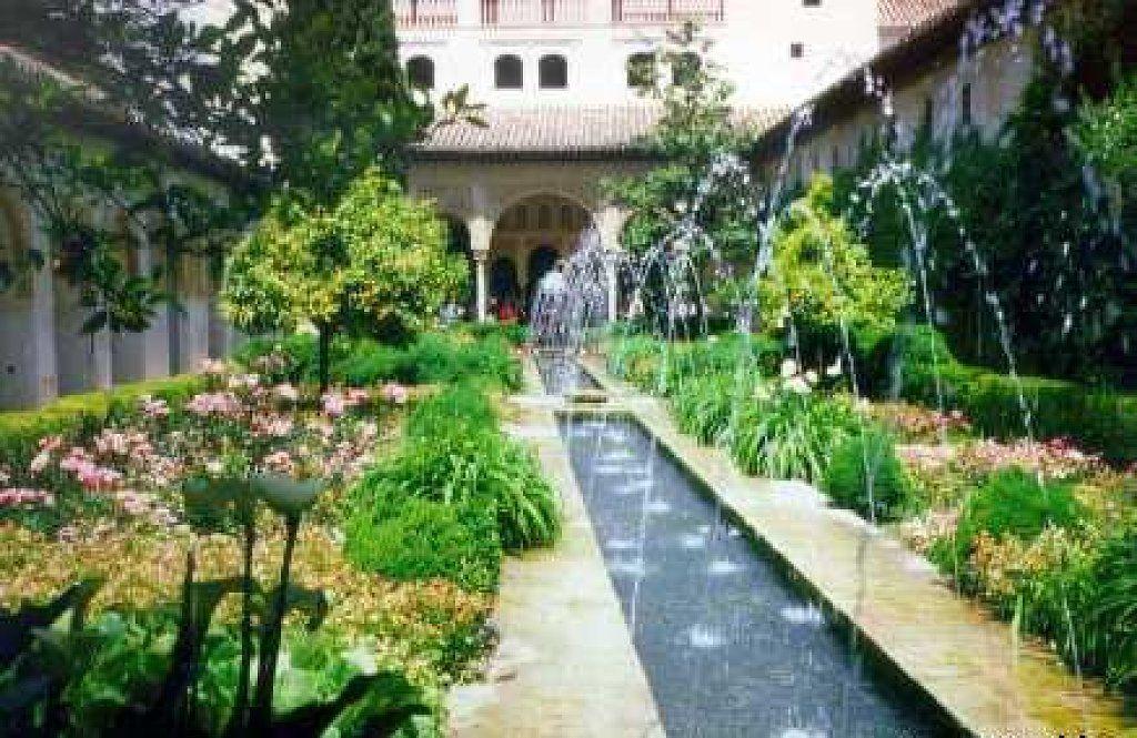 El Jardin Arabe Mas Bello Se Encuentra En Espana Plantas Red - Jardin-arabe