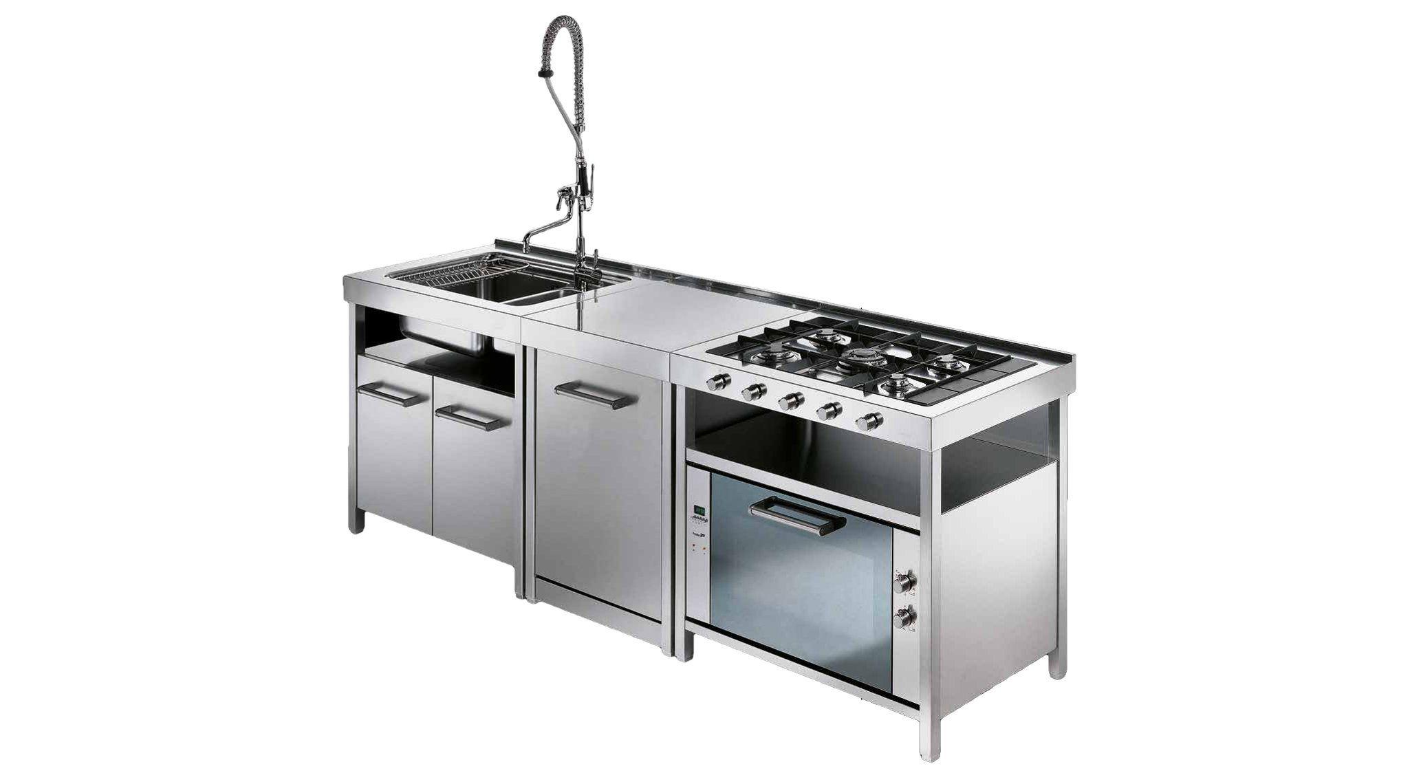 Maniglie X Mobili Da Cucina mobili da cucina in acciaio