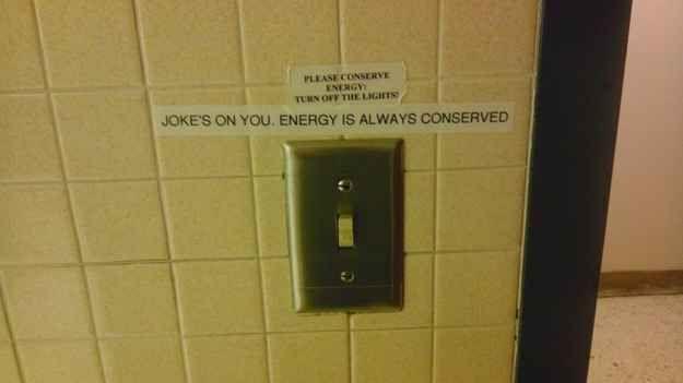In a college physics building    Geek   Nerd jokes, Physics
