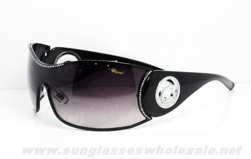 Chopard SCH 638S Black Grey Gradient Sunglasses Free Shipping To Buy