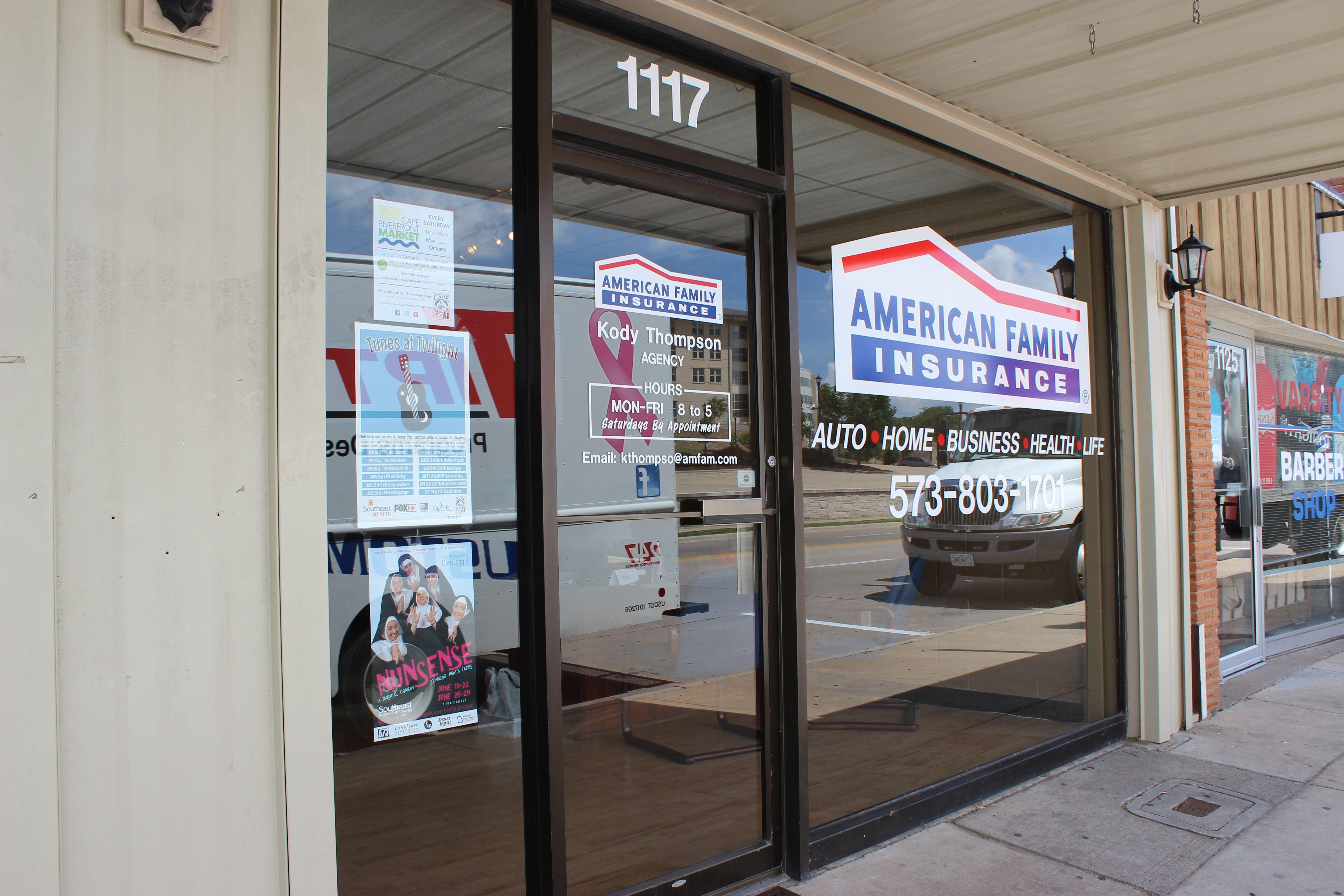 American Family Insurance Kody Thompson 1117 Broadway Street