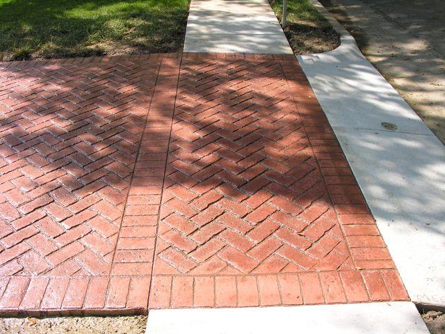 Stamping Concrete In Richmond Concrete Patio Stamped Concrete