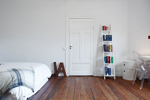 Wooden Floors Giant Alphabet Signs And That Shelf Bookcase