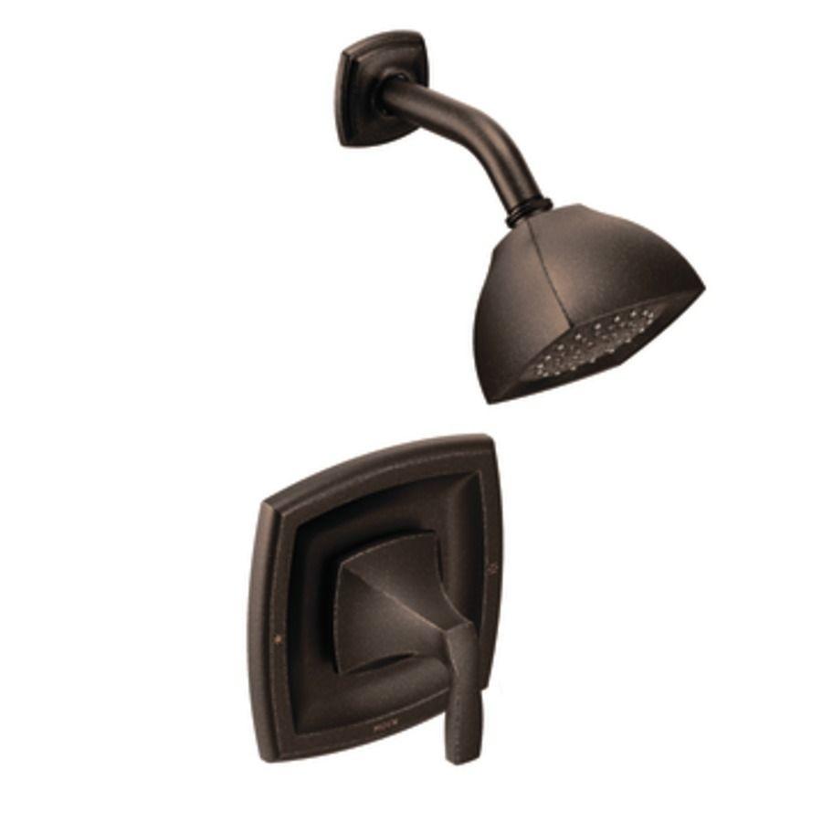 Moen Voss Oil-Rubbed Bronze 1-Handle Watersense Shower Faucet Trim ...