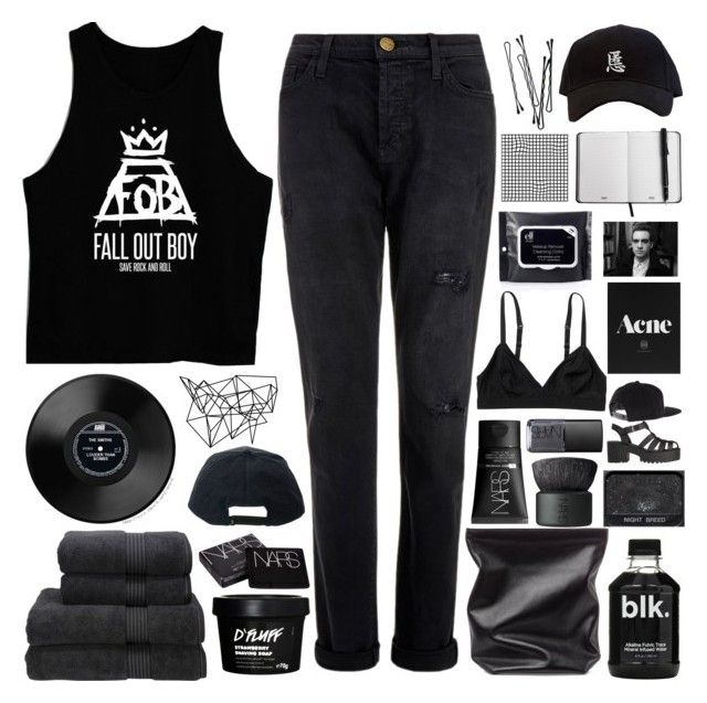 """its so fitting"" by horanoverniall ❤ liked on Polyvore featuring Current/Elliott, NARS Cosmetics, Christy, Jil Sander, Monki, BOBBY, Color Me, Stussy and UNIF"