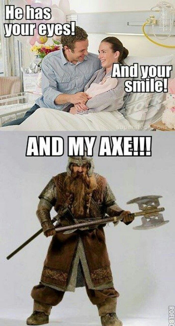 Lord Of The Rings Quotes Are Appropriate In All Situations Friday Funny Pictures Lotr The Hobbit