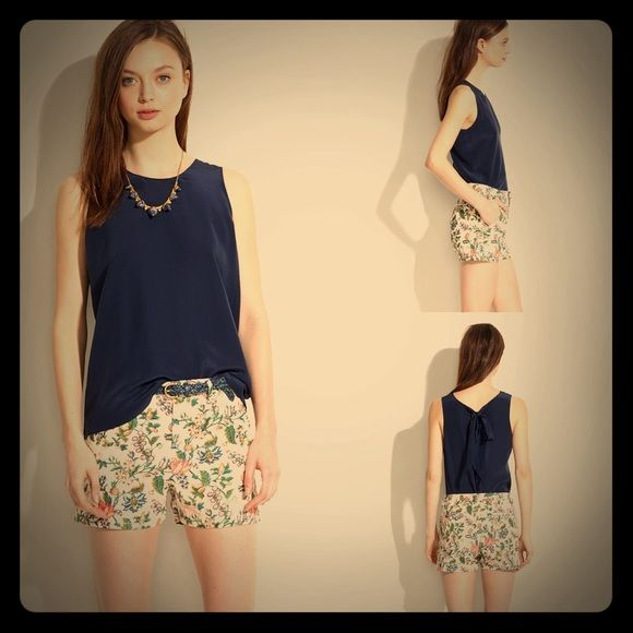 NWOT Madewell Garden Vine Shorts Size 0 Never worn Gorgeous Madewell Beige Floral Shorts Size 0... Madewell Shorts