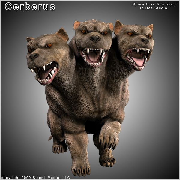 Myths Legends Cerberus Greek Mythological Creatures Cerberus Fantasy Creatures Art