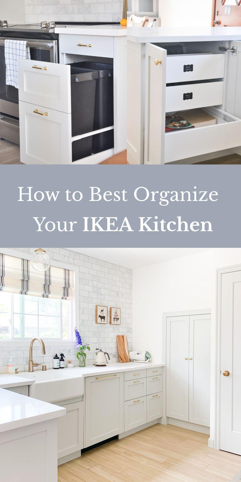 IKEA Kitchen Organization Ideas and Hacks