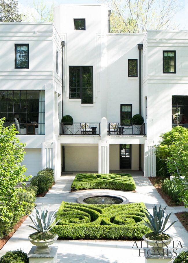 A beautifully restored Art Deco residence in Atlanta! #artdecointerior