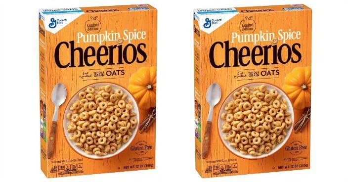 Pumpkin Spice Cheerios Just $1.38 At Target! | Pumpkin ...